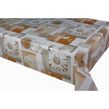 Soft PVC Printed Tablecloth In Roll