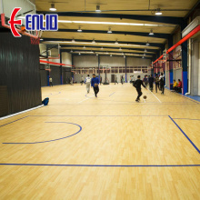 Indoor PVC Sports Flooring Basketball Mat