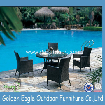 Wholesale Patio Wicker Furniture Leisure Dining Set