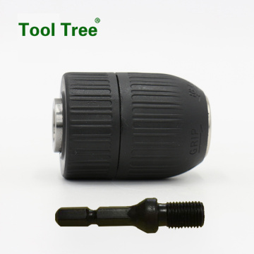 0.8-10mm+3%2F8-24UNF+keyless+drill+chuck+with+Hex+shank