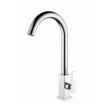Chrome Long Neck SS body Kitchen Tap Faucets