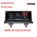 BMW X4 F26 Dashboard Android