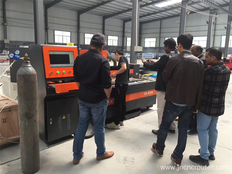 small laser metal cutting machine fiber raycus