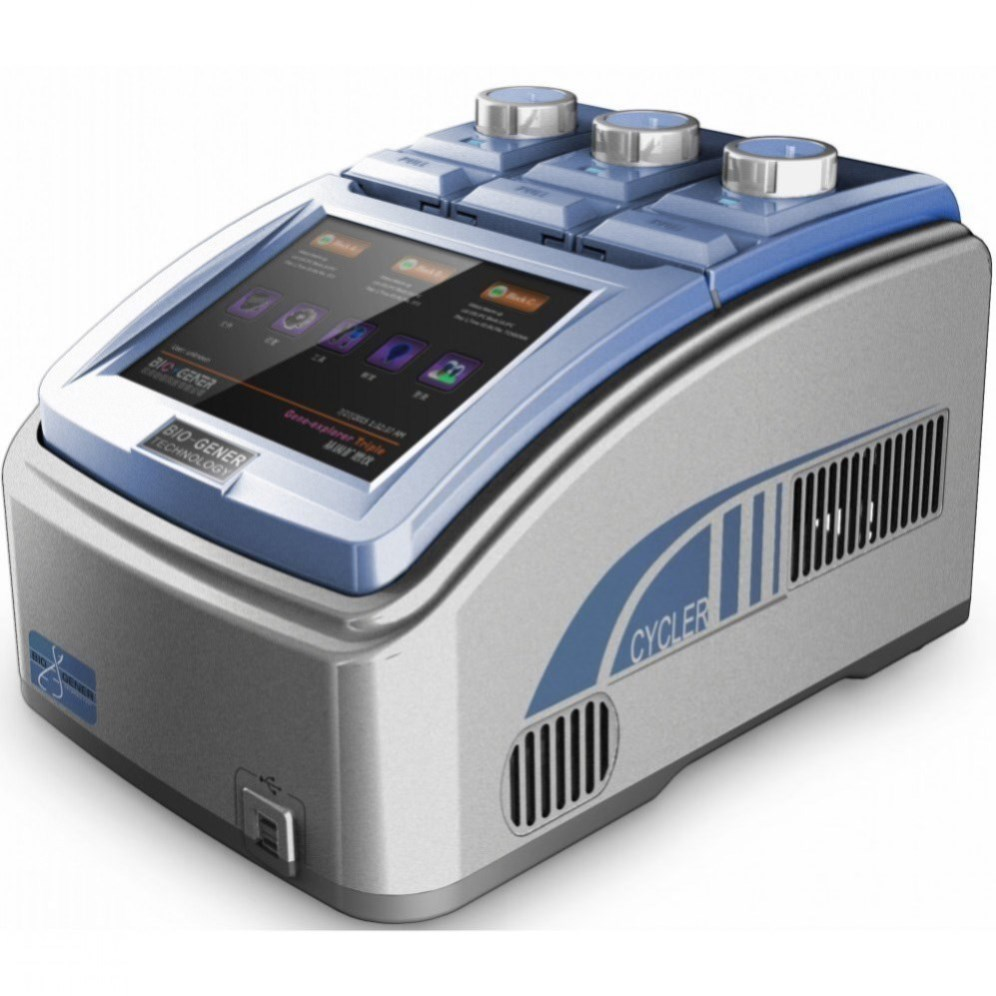 Clinical triple blocks gradient DNA thermal cycler