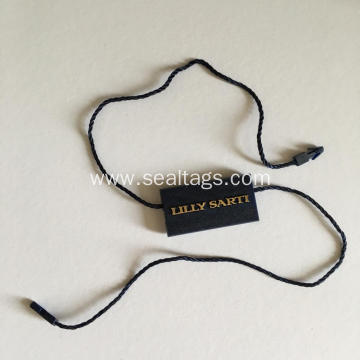 Garment plastic tag with PVC layer