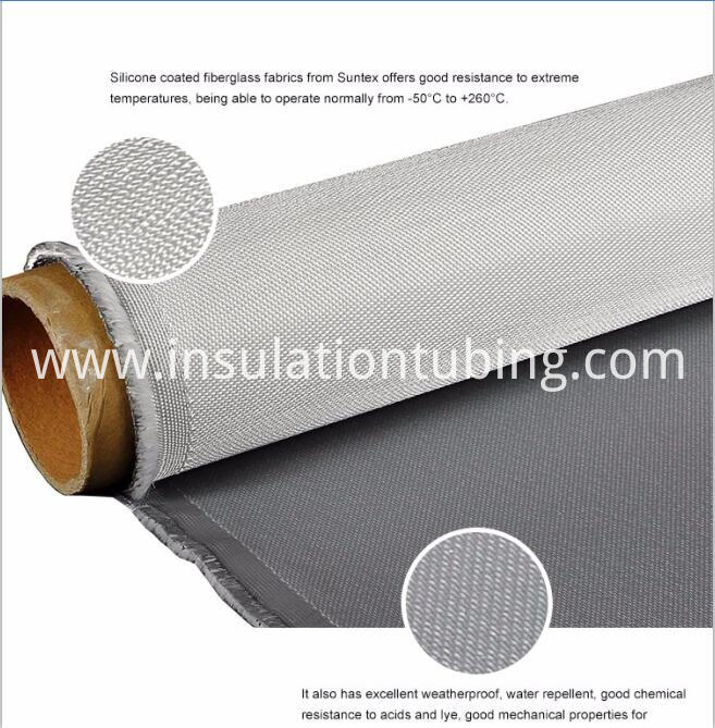 Fire Resistance Silicone Coated Glass Fiber Cloth