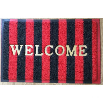 Fashion PVC coil entrance mat Fancy flooring floor