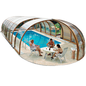 Retractable Swimming Telescopic Pool Enclosure