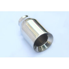 Round Double Wall Stainless Steel Exhaust Tips