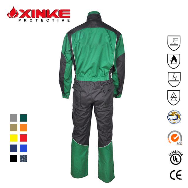 EN11611 Dark Blue 100% Cotton Fire Retardant Uniform