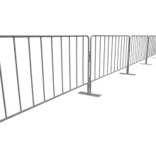 crowd control barrier fence and galvanized steel barricades