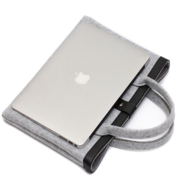 Custom high quality ladies handbag grey color
