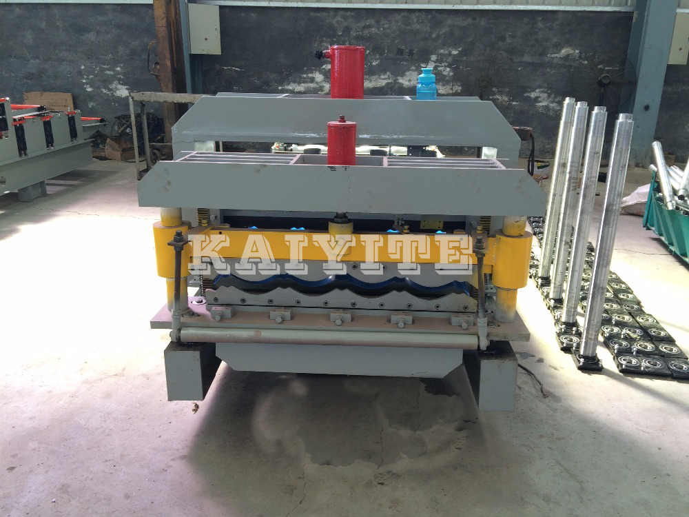 Full Automatic Step Tile Roll Forming Machine
