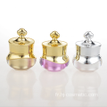 OEM/ODM high quality double-layer acrylic crown cosmetic jars with good price