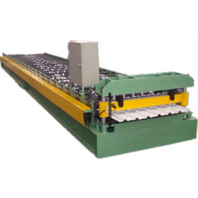 Color steel metal roof sheet roll forming machine