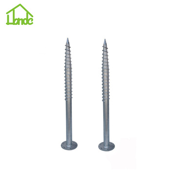 Best quality and factory for China F Ground Screw, Ground Screw with Flange, Professional Foundations, Ground Screws, Construction Ground Screw Supplier The Best Price of Ground Screw Anchor supply to France Manufacturer