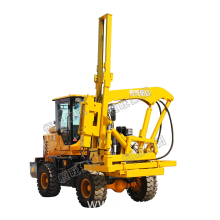 Customized for China Guardrail Pile Driver,Diesel Engine Drilling,Press Wheel Pile Driver Manufacturer Photovoltaic Hammer Guardrail Post Pile Piling Driver supply to Brunei Darussalam Suppliers
