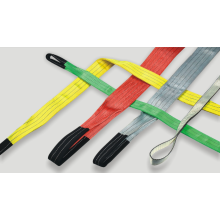 Rapid Delivery for Supply Polyester Endless Round Sling,Polyester Round Lifting Webbing Sling,Heavy Duty Polyester Round Sling of High Quality 3T polyester braide color code lifting belt sling supply to India Factory