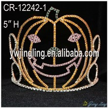 Holiday Pageant Pumpkin Halloween Crown