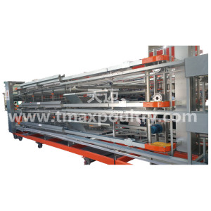H Type Layer Cages Equipment