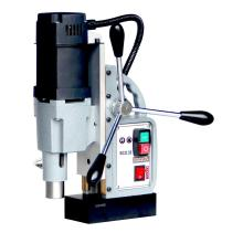 Two gear mechanical speed magnetic drill