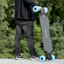 Waterproof electric skateboard with direct drive motor