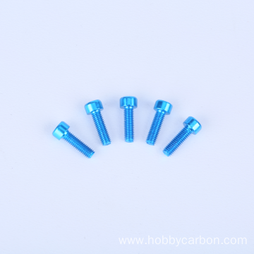 I-Profession RC Anodized Colourful Aluminium Hex Socket Screw