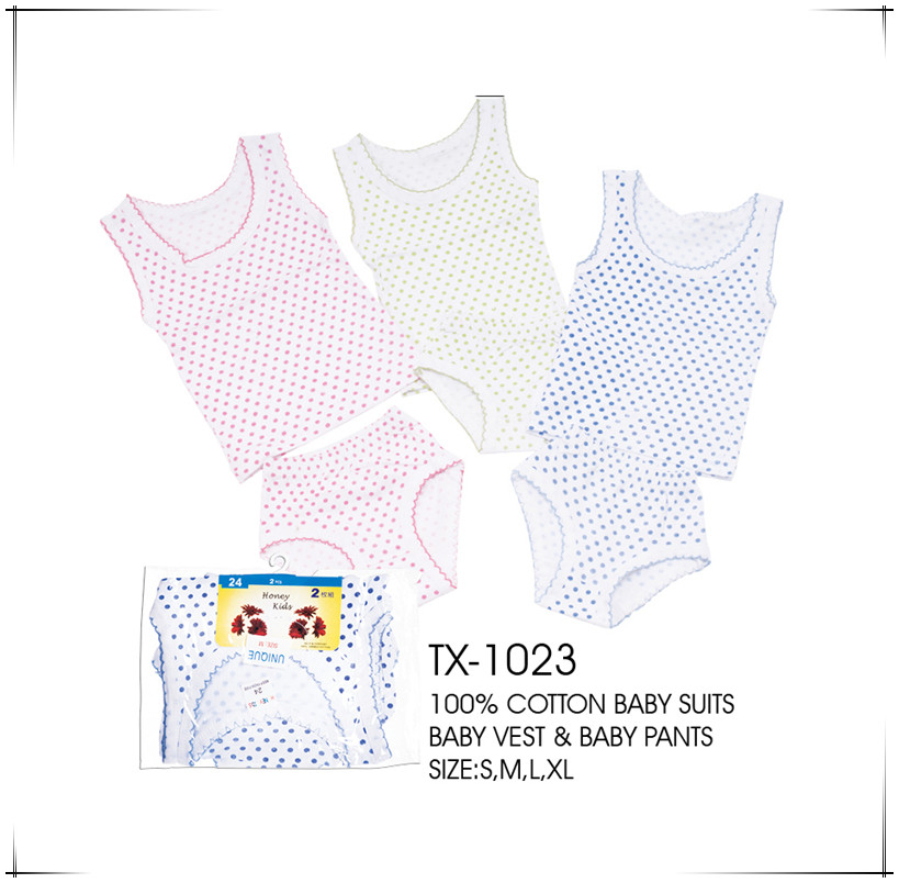 Cotton Infant Apparel