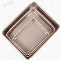 Customized made non stick baking sheet pan set