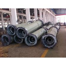 factory low price Used for Transmission And Distribution Pole Galvanized Wind Power Pole supply to Panama Manufacturer