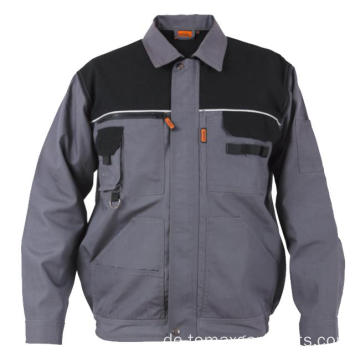 Canvas Umlegekragen Jacke