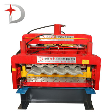 Glazed roof panel double layer roll forming machine