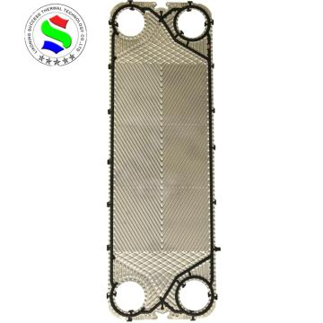 stainless steel 316 M15M plate heat exchanger plate