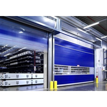 Industrial  PVC Fast High Speed Rolling Door
