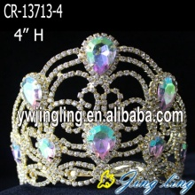 Fashion Gold Wholesale Pageant Crown For Sale