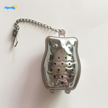 Stainless Steel Tea Strainer Infuser Owl