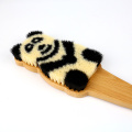 Panda Pattern con manico in legno Super Bath Brush