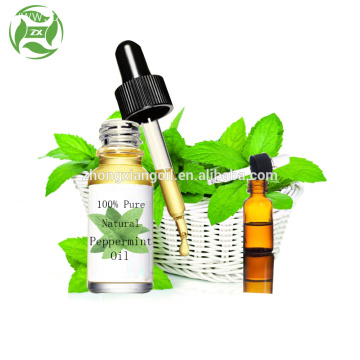 Pure natural organic wild peppermint essential oil