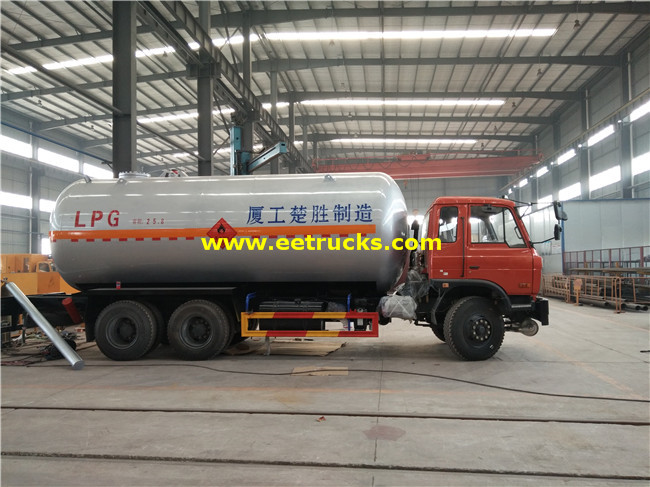 LPG Tanker Vehicles