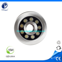 15W IP68 waterproof led fountain underwater light