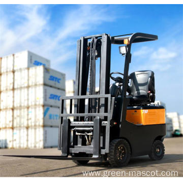 mini electric forklift truck 750kg