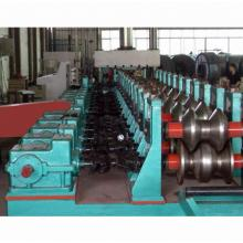 w beam crash barrier machine