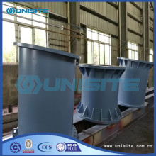 China Factory for Lsaw Dredge Pipe Steel Structural Pipe With Flange supply to Poland Factory