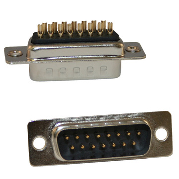 D-SUB MALE Solder type Machine Pin