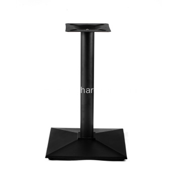 Cast Iron Square Bottom Dining Height Table Base