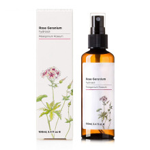 Rose geranium hydrosol water 100% pure for skin