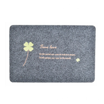 Cheap eco-friendly embroidered bath mat
