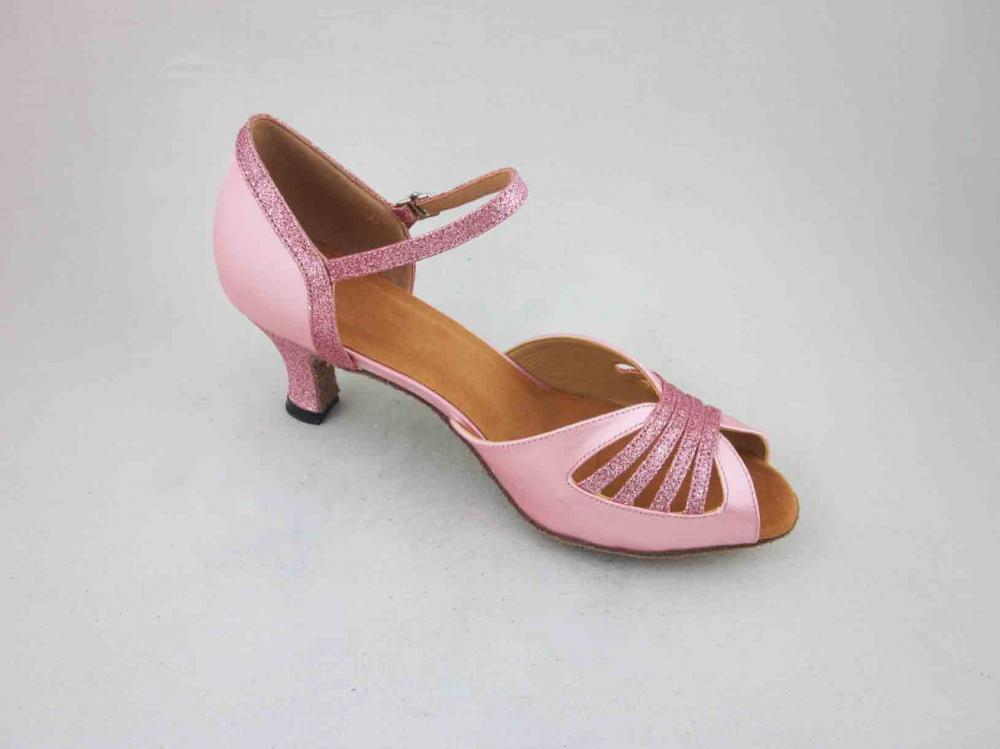 2 Inch Pink Salsa Shoes