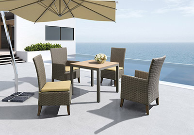 Square Patio Dining Set