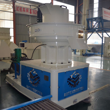 Motor vertical installation ring die pellet mill